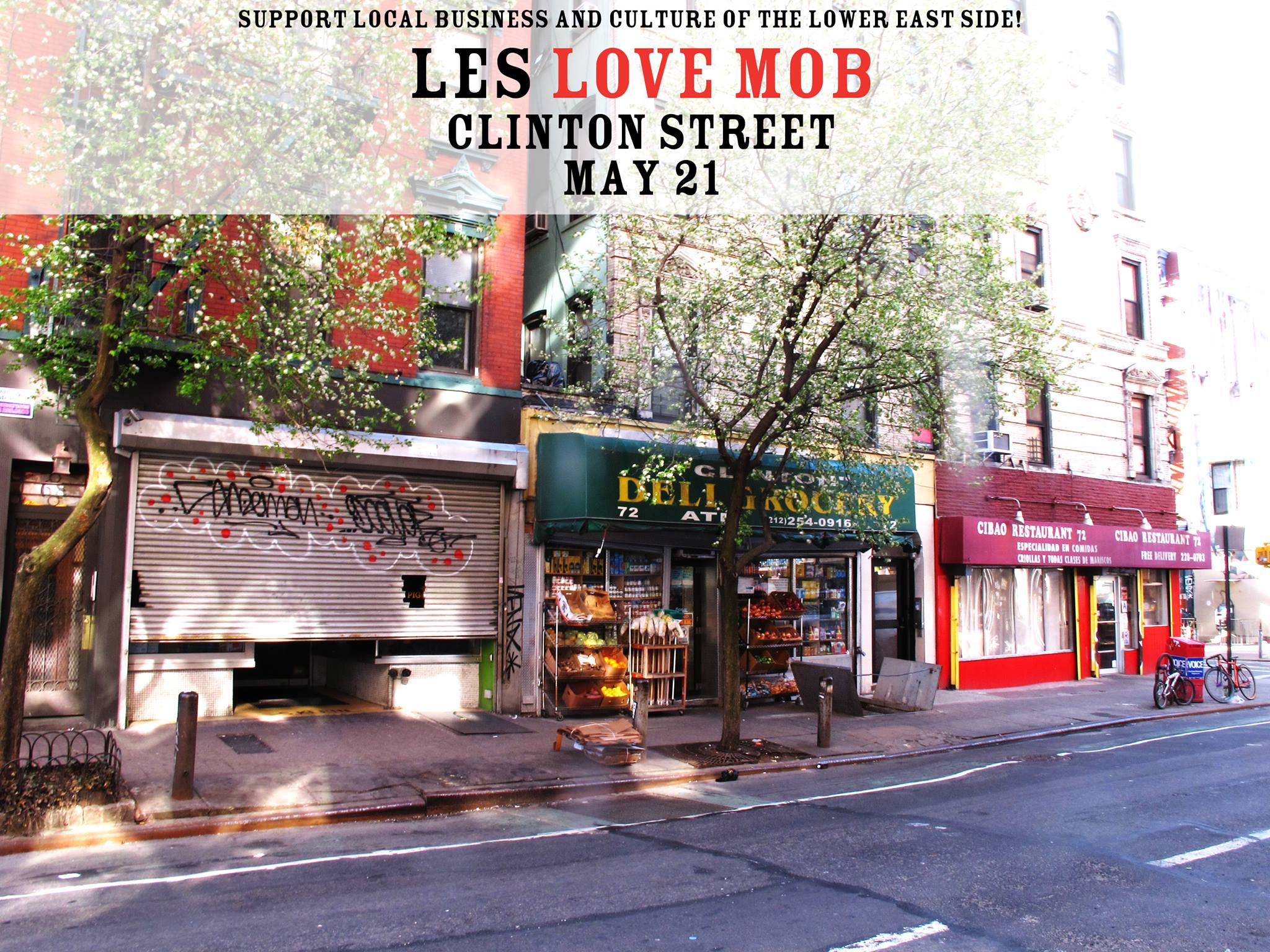 LES Love Mob Flyer