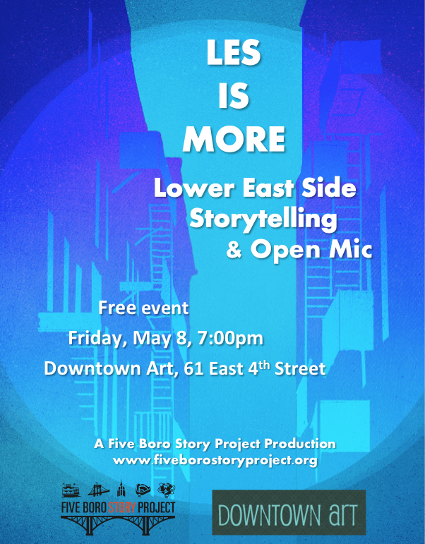 LESisMore_May8_Flyer