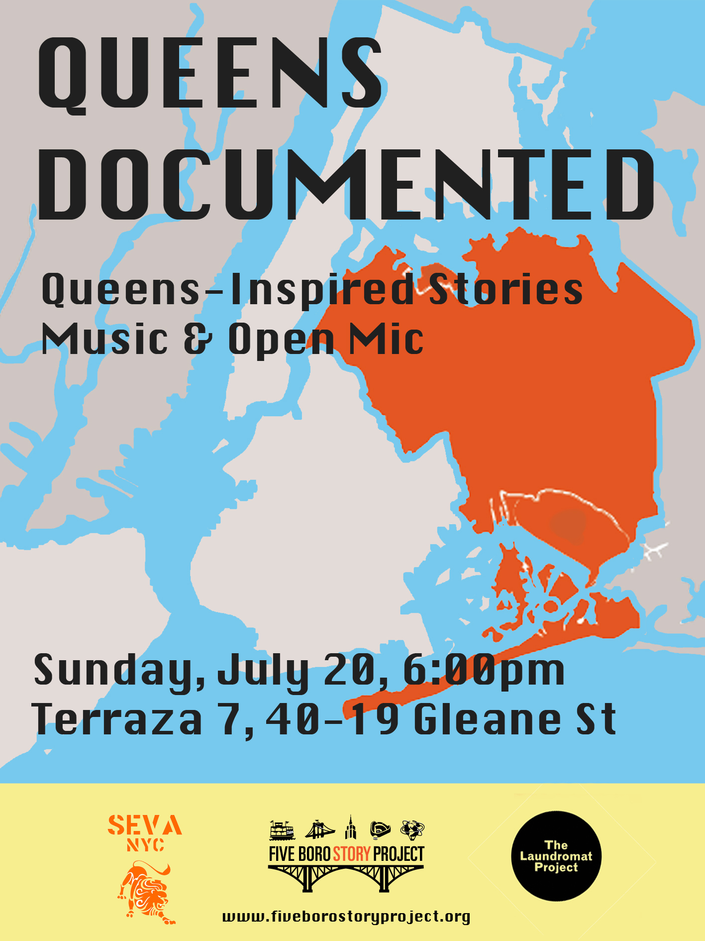 Queens Documented flyer final