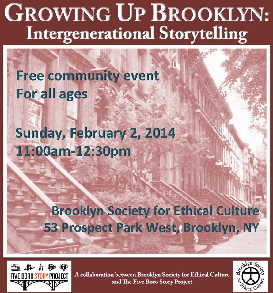 Growing Up Brooklyn Flyer