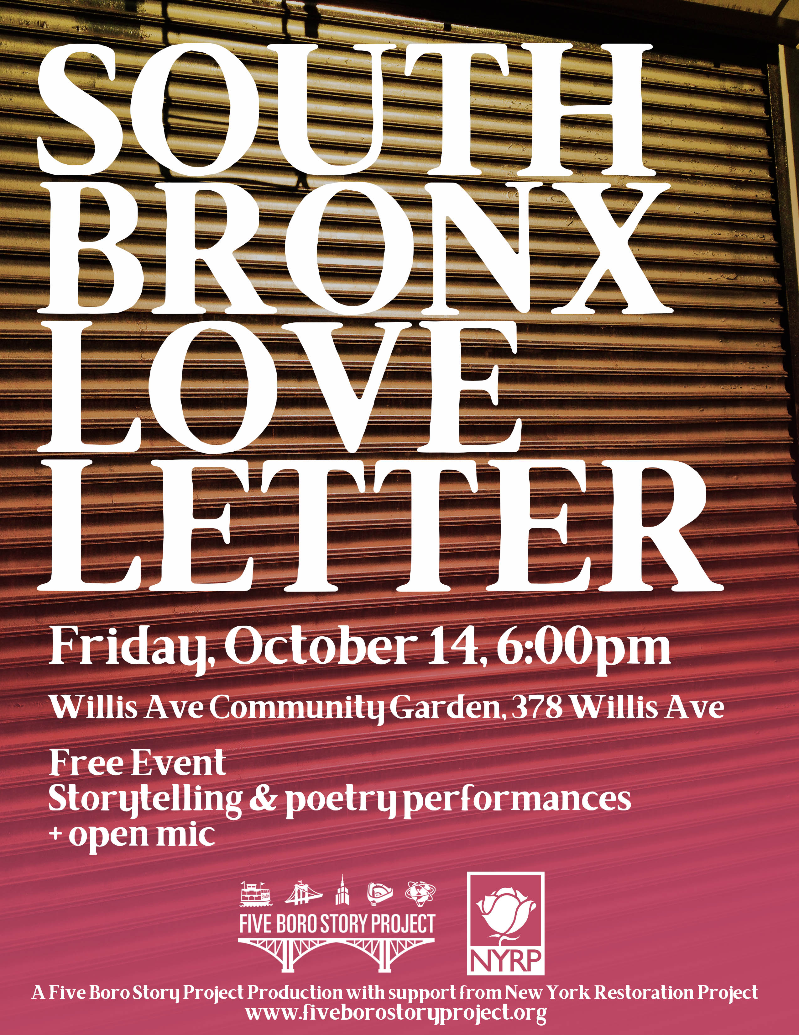 South Bronx Love Letter – Part 2 | Five Boro Story Project